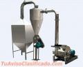 Consumo humano Molino de acero inoxidable - harina 250-380 kg