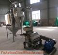(Acero inoxidable) Molino- harina 150-300 kg hora consumo humano