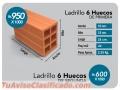 TENGO LADRILLOS DE 6 HUECOS a la venta