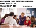PREPARACION CAMBRIDGE NIVEL B1 B2 C1 C2  TRADUCCIONES  0959082112