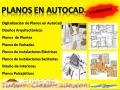 Realizo Planos en Autocad, arquitectos ,ingenieros, proyectos arquitectura, en Montevideo