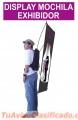 Mochilas publicitarias para volanteo y activaciones,Ruleta canguro, Modulos, Anforas