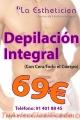 Fabulosa depilación por 69 Euros