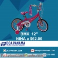 """Bicicleta bmx 12"""" para niña a 62$"""