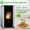 Meelko pellet stove mk-p01