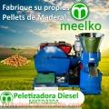 Peletizadora Diesel MEELKO Modelo MKFD230A