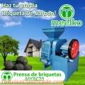 EQUIPO PRENSA DE BRIQUETAS MODELO MKBC20