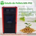 Estufa Compacta De Pellets MK-P02