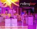 Salas lounge, bares móviles, diseño de eventos, estructuras decorativas, decoración aérea