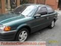 Toyota tercel-Color Verde Jade-Mod.1997