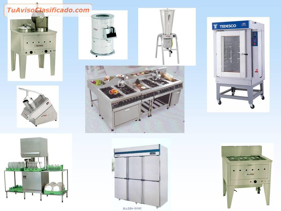 Equipos y maquinarias para panaderia mobiliario y for Mobiliario de cocina precios