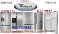 SERVICIO TECNICO REFRIGERADORA WHIRLPOOL  TEL:675-0837
