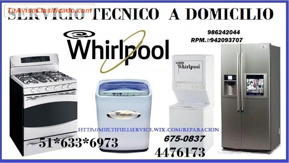 Servicio tecnico whirlpool lavadoras 6750837 servicios y for Servicio tecnico whirlpool