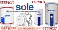 SERVICIO TECNICO TERMA SOLE 986242044 / 6750837