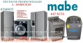 Servicio tecnico mabe de lavadora secadora 4476173