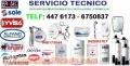 SERVICIO TECNICO TERMA SOLE CALOREX ROTOPLAS BRASEC BOSCH
