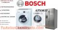 Reparacion lavadoras bosch 6750837