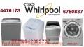 Servicio tecnico lavadoras whirlpool 6750837