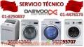 SERVICIO TECNICO LAVADORAS DAEWOO 6750837