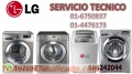SERVICIO TECNICO LAVADORAS LG 6750837