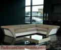 Mueble confortable en piel Modelo S150M49