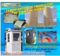 Fabricamos basureros butacas baños portatiles de fibra de vidrio en BOLIVIA