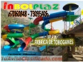 Empresa dedicada a la fabricación de juegos infantiles en Plástico Reforzado