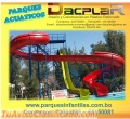 Parques infantiles toboganes acuáticos productos de fibra de vidrio fabricados en Bolivia