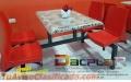 Fabricamos mesas  de fibra de vidrio