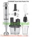 Cuisinart Licuador Batidor Procesador Inmersion PowerTrio Nuevo y Original