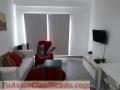 Apartamento de una habitación amueblada en Gazcue