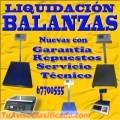 Liquidación de Balanzas Electrónicas, Mecánicas y Electromecánicas