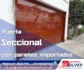 PUERTAS AUTOMÁTICAS LEVADIZAS SECCIONALES  CORREDIZAS ESPECIALISTA SILVER TODO A1