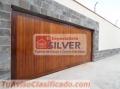 Sistema para puertas levadizas seccionales cercos eléctricos ESPECIALISTAS SILVER
