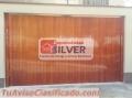 Puertas levadizas seccionales cercos eléctricos ESPECIALISTAS SILVER 944437627