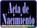 Apostilla de Partida de Nacimiento / Acta de Nacimiento / Abogados Venezuela