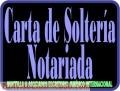 Carta de Soltería Notariada o Apostillada, Pensión IVSS o Militar Venezuela