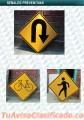 Señales viales para carreteras