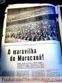 Álbum original del Mundial de 1950, Maracaná.