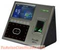 Sistema de control de asistencia con huella digital o rostro