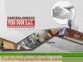 Mantenimiento a puertas de garaje levadizas a control remoto PERU DOOR Telf 4623061