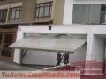 Mantenimiento para puertas de garaje levadizas seccionales PERU DOOR