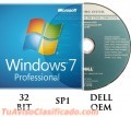 LICENCIAS LEGALES MICROSOFT OEM WIND 7 PRO 32 BITS