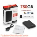 HDD EXT 750 GB 3.0 USB TOSHIBA NEGRO