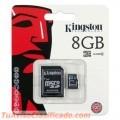 MEMORIA CON ADAPTADOR 8GB MICRO 2X1