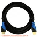 CABLE HDMI 10M BLUERIGGER