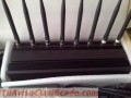 Jammer Bloqueador Inhibidor 8 antenas 4g Lte 3g 2g Lojack Wifi Gps