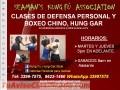 Defensa personal y Boxeo Chino