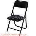 Vendo sillas plegables banqueteras
