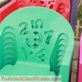Sillas de plastico infantiles a la venta